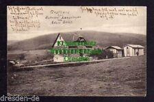 117049 AK Lanzingen 1918 Gasthaus zum Bahnhof Adam Lenz