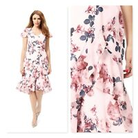 REVIEW Womens Size 14 Moonlight Garden Dress - As new