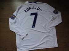 Manchester United #7 Ronaldo 100% Original Jersey 2008/09 Away XL LS NWT Rare