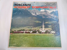 "Arturo Toscanini, Schubert – Symphony No. 9 (LM-1835) 12"" LP RCA VRS 1954"