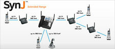 AT&T SynJ® SB67148 4-LINE CORDED ACCESSORY DESK PHONE FOR SB67118 & SB67138