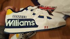 Vintage 90s Renault Williams F1 Collector Basketball Sneaker shoes