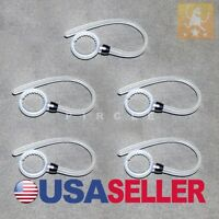 SET 5 WHITE EARHOOK FOR MOTOROLA ELITE FLIP HZ720 HEADSET EAR HOOK EAR LOOP NEW