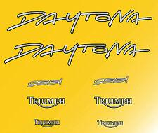 Triumph daytona 955 (2004-jaune) aufkleber decal aufkleber motorrad