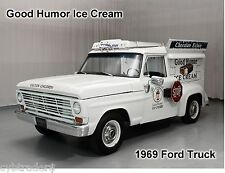 1969 Ford Truck Good Humor Ice Cream  Auto  Refrigerator / Tool Box Magnet