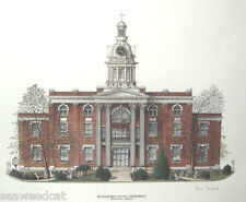 Rutherford County Courthouse by Phil Ponder (Murfreesboro, TN) signed & numbered