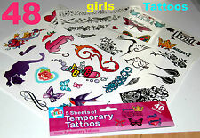 Set di grandi temporanea REGINA TATUAGGI Per Ragazze Party articoli FILLER toy BODY ART BAG