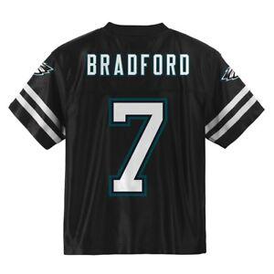 Sam Bradford NFL Philadelphia Eagles Alt Black Youth Replica Jersey (S-XL)