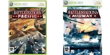 Battlestations Midway & battle stations pacific   XBOX 360 PAL