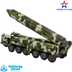Diecast Model Toy Intercontinental Ballistic Missile RT-2PM Topol SS-25 Sickle