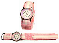Reflex Girls Time Teacher Pink Velcro Strap Watch REFK0005