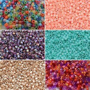 Miyuki 11/0 DELICA Beads 10 grams Japanese Glass Beads