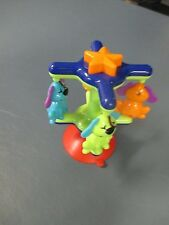 Revolving Puppy Merry Go Round Suction Toy Excellent Used Condition Ages 9 mo+