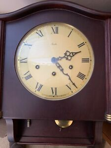 Mauthe wall clock with chime; Made in Germany