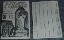 Magic the Gathering REVISED/3rd Edition RULEBOOK Strategy Guide 1994 rules book