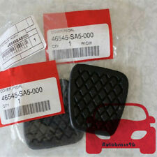 OEM 2 PCS Brake/Clutch Pedal Rubber Covers 46545-SA5-000 For Honda Accord Civic