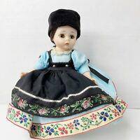 Madame Alexander RUMANIA International Doll Romania #586 Vintage Bent Knee