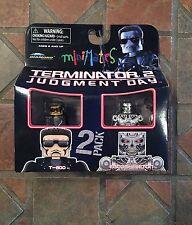 Minimates Terminator 2 T-800 & ENDOSKELETON T2 Judgement Day Movie figure