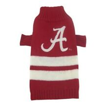 Alabama Crimson Tide NCAA Pets First Dog Pet Acrylic Winter Sweater Sizes XS-L