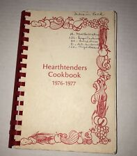 1976-77 Hearthtenders Lincoln Christian College Cook Book Lincoln, IL