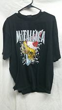 1999 Metallica New Year's Eve Detroit Black Concert Shirt