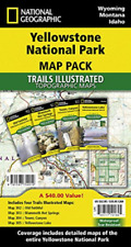 National Geographic Maps (Cor)-National Geographic Yellowstone National BOOK NEW