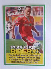 2009 Match of the Day Magazine Ribery Bayern Munich Card
