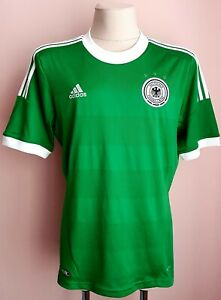 Germany 2012 - 2013 Away football Adidas shirt size L