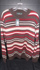 The Bostonians Geece Medium M Lambswool Striped Sweater