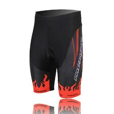 Men Outdoor Sports Cycling Quick Dry Shorts Padded Bike Bicycle Pants S-3XL Red