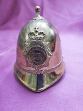Small Brass Bell Helmet Vintage by H Seener Metropolitan Police Er Collector