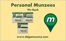 Personal Munzee Name Badge Pin Back