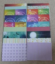 20 SHEETS OF A5 DOUBLE SIDED PATTERNED PAPER 160 gsm