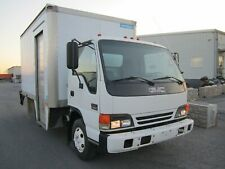 2000 Gmc 12ft Box Truck w Liftgate W3500 V8 gas cab over - Low Miles! - non Cdl