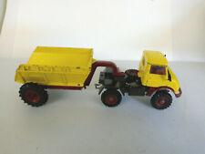 Corgi Unimog Truck and Trailer Original Condition unboxed