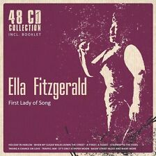 Ella Fitzgerald - First Lady of Song (48 CD Collection) Box-Set neu ovp