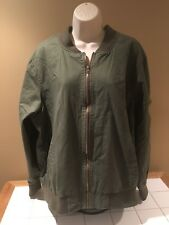 Women's New Look Military-Green Jacket size 3X