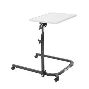 Pivot and Tilt Adjustable Overbed Table