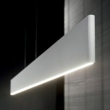 LAMPADARIO MODERNO BIANCO A LED 23W 2100 LUMEN DESK SP1 SOSPENSIONE