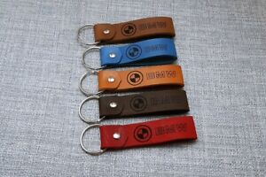 BMW Leather Motorcycle Motorbike Keyring keychain Schlüsselanhänger porte-clés