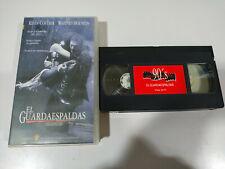 El Guardaespaldas Kevin Costner Whitney Houston - VHS Cinta Castellano