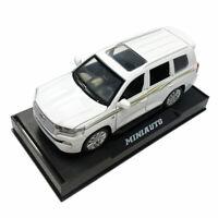 Toyota Land Cruiser 1/32 Die Cast Modellauto Spielzeug Sammlung Ton & Licht Weiß