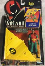 Batman Animated Series Robin With Turbo Glider And Drop Missiles MOC Kenner 1992