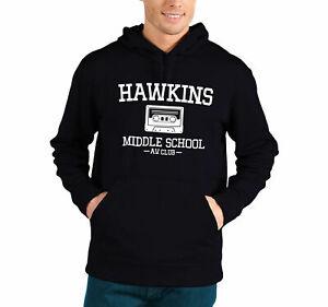 Hawkins Middle School AV Club Inspired by Stranger Things Unisex Hooded