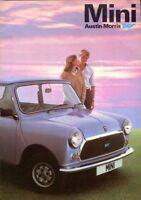 Mini HL, HL Estate, City UK market original colour sales brochure ref.3480
