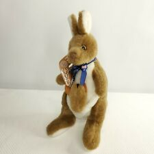 Australia Souvenir Kangaroo with Joey Boomerang Stuffed Animal Plush