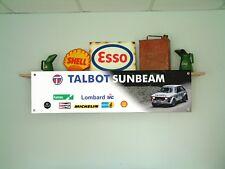 Talbot Sunbeam Lotus BANNER Rally Car Workshop Garage pvc sign