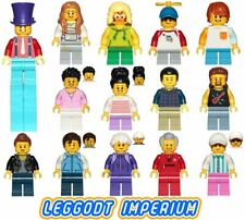 Lego City Fun Fair Minifigures - face painter stilt boy girl 60234 FREE POST