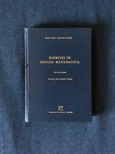 Esercizi di Analisi Matematica - Volume secondo