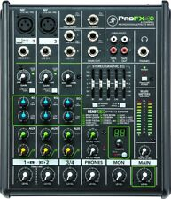 NEW MACKIE ProFX4v2 Mixer with professional effects from JAPAN